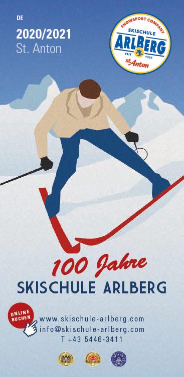 Broschuere Arlberg
